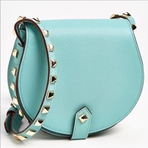 RM Sea Glass Stud Mini Skylar Saffiano Crossbody